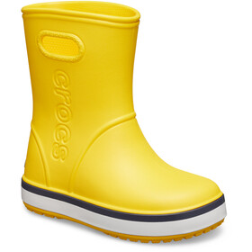 Crocs Crocband Rain Boots Kids yellow/navy